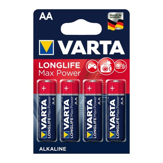 Longlife Max Power AA Batterijen (Varta)