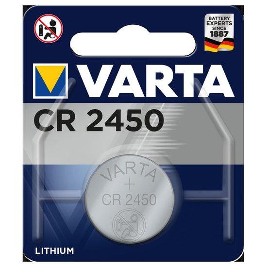CR2450 Knoopcel Batterij (Varta)