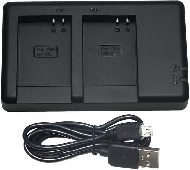 NB-10L USB Duolader (Canon)