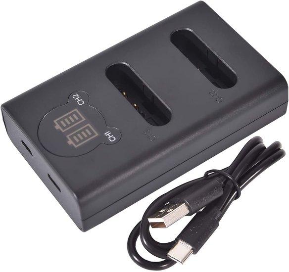 LI-92B USB Duolader (Olympus)