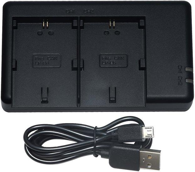 LP-E6NH USB Duolader (Canon)