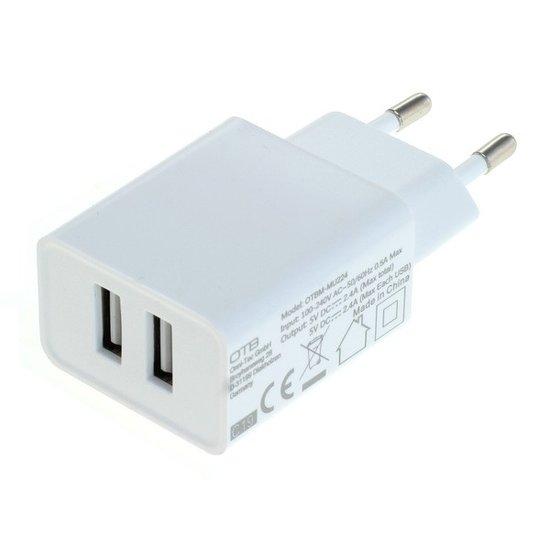 Stopcontact Duo-USB Adapter