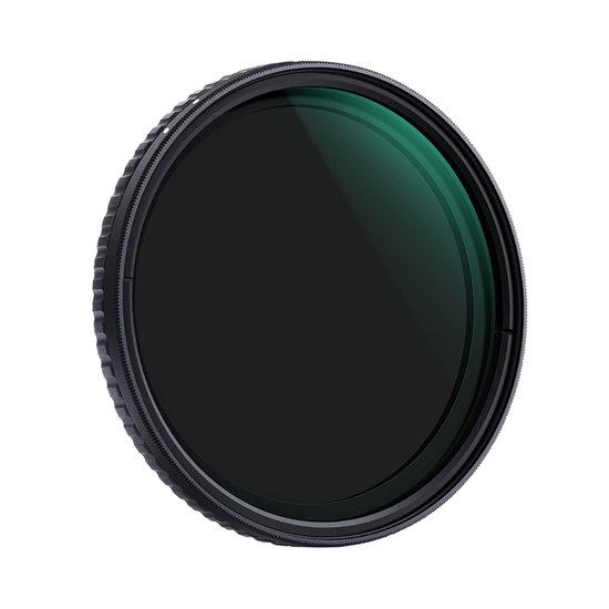 K&F Variabel Grijsfilter ND2-ND32 (77mm)