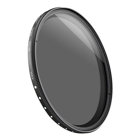 K&F Variabel Grijsfilter ND2-ND400 (62mm)