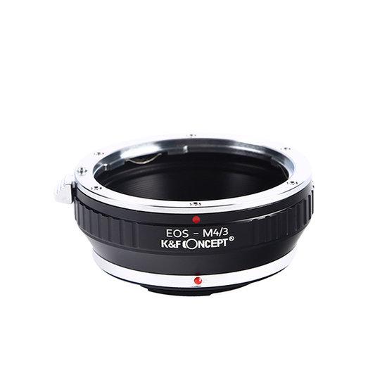 K&F Lens Adapter Micro 4/3 naar Canon EF
