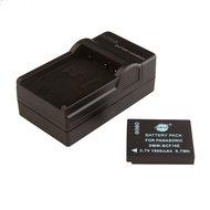 DMW-BCF10E Accu & Oplader (Panasonic)