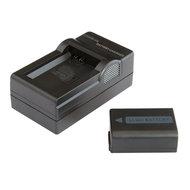 NP-FW50 Accu & Oplader (Sony)